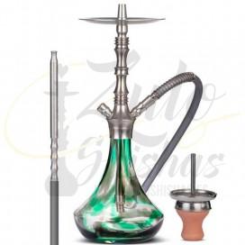Imágenes de cachimba Aladin Alux MVP Prima en color verde y negra comprar CON DESCUENTO