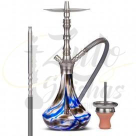 Imágenes de cachimba Aladin Alux Prima Blue comprar online Zulo Shishas
