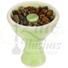 Imágenes de piedras para fumar en cachimbas sabor menta o chicle mentolado