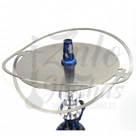 Imágenes de plato para cachimbas de acero inoxidable UFO