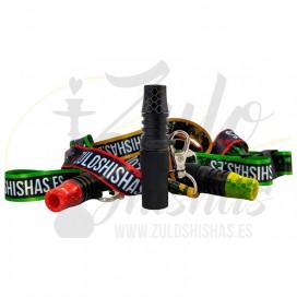 Imágenes de boquilla personal para cachimbas de resina MOUTH TIP 2.0 SERPENT BY ZULO SHISHAS