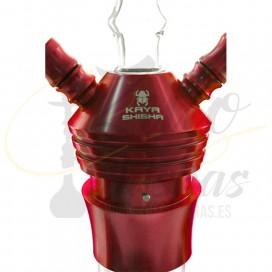 Imágenes de Kaya Shishas 630CE Elox Scepter Red 2S comprar online cuerpo de cristal