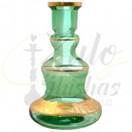 Imágenes de base de bohemia para cachimbas KAYA SHISHAS SUEDE GREEN VERDE - LAS MSAS BARATAS