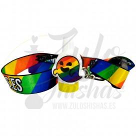 Imágenes de boquilla GAYSPER con lanyard para cachimbas y shishas - BOQUILLAS 3D LGTIBQ+