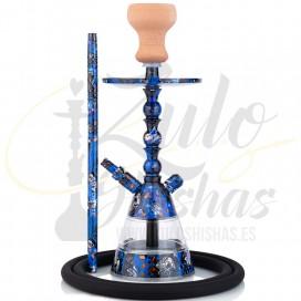 Imágenes de cachimba pequeña AMY DELUXE ALU BONBOn M10 Blue comprar online METACRILATO ALUMINIO