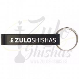Imágenes de abridor de botellines ZULO SHISHAS para cachimbas llavero personalizado