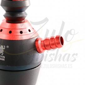 Imágenes de cachimbas KAya Shishas Elox 580 Twist Shiny Red comprar online