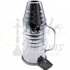 Imágenes de cubrevientos para cachimbas COLD SMOKE grande de 25cm de ALTURA