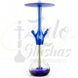 Imágenes de cachimba K-Lada Fussion Blue en color AZUL