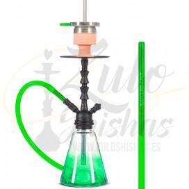 Imágenes de cachimbas AY DELUXE 050 LITTLE STARFOX GREEN BLACK comprar online