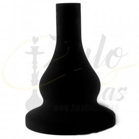 Imágenes de base de cristal para cachimbas 630FL Elox comprar online KAYA SHISHAS BLACK NEON