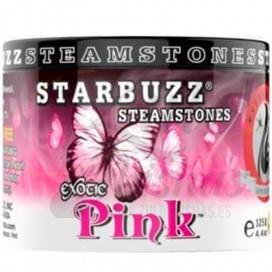Imágenes de piedras para cachimbas STARBUZZ STEAMSTONES PINK ROSA MARIPOSA