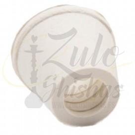 Imágenes de junta o goma a presión para cazoletas de cachimbas fabricada en CAUCHO color BLANCO