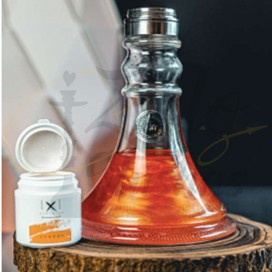 Imágenes de colorante metalizados para cachimbas Xschischa Orange Sparkle - Naranja Metalizado