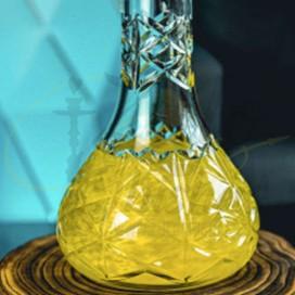 Imágenes de colorante para cachimbas Xschischa X-Pulver Yellow Sparkle en color AMARILLO METALIZADO