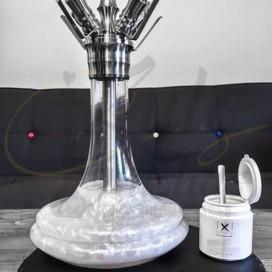 Imágenes de colorante paa cachimbas Xschischa White Sparkle - 50grs Blanco Metalizado