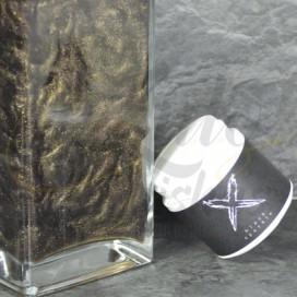 Imágenes de colorante en polvo para cachimbas XSchischa Black Sparkle 50grs NEGRO METALIZADO