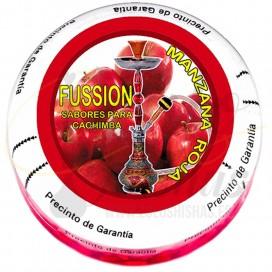Imágenes de piedras para fumar en cachimbas Delta Stones Fussion Manzana Roja Red Apple