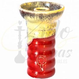 Cazoleta QPS 2.0 SUR Crema & Roja · FT ZuloShishas