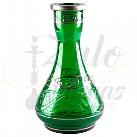 Imágenes de base para cachimbas PEAR diseño de PERA tradicionales 25cm en color VERDE