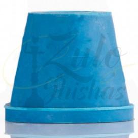 Imágenes de junta para cazoletas o goma conector de color AZUL para cachimbas o shishas