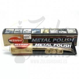 Imágenes de pulimento manual para cachimbas Metal Polish, restaurador de metales para cachimbas y shishas tradicionales.
