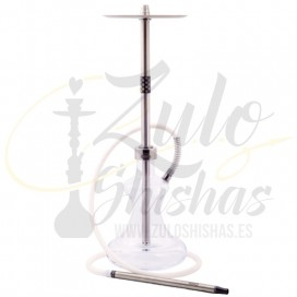 Imágenes de nueva cachimba de la marca Oduman modelo HYBRID BLACK Edition comprar online shishas de cristal ODUMAN
