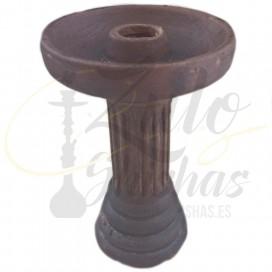Imágenes de cazoleta para cachimbas El Nefes Porcelain Rustic Brown comprar online cazoletas para cachimbas de PORCELANA