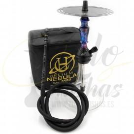 Imágenes de cachimbas Helium Nebula Mini Black Purple - Morada y Negra