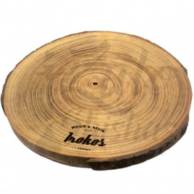 Imágenes de base de madera SIN LED fabricada por WOODBASE IROKOS modelo FIT - Ideal para cachimbas o shishas