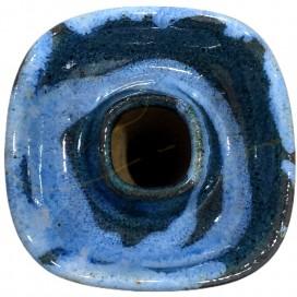 Imágenes de cazoleta Brasileña BULLDOG SLIM GRAN RESERVA en color CAMOUFLAGE celeste y azul