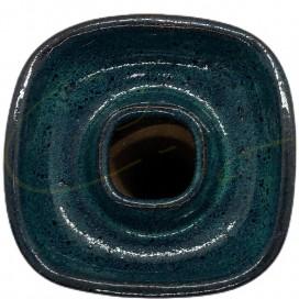 Imágenes de cazoletas para cachimbas BULLDOG SLIM Azul Mar - GAMA PREMIUM CAZOLETAS O CERÁMICAS CUADRADAS