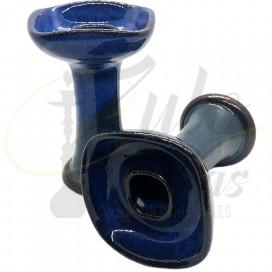 Imágenes de cazoletas para cachimba cuadradas Super Bowl Gran Reserva Azul Marino BICOLOR