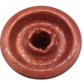Imágenes de cazoleta de Bajo Consumo Slim Bowl - Cachimbas y Shishas en color ROJO