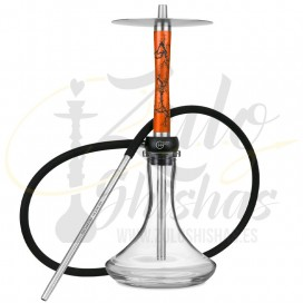Imágenes de cachimba Geometry Hookah Volt Orange comprar online