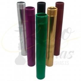 Imágenes de tubo de inmersión para cachimbas Super Hookah disponible en varios colores