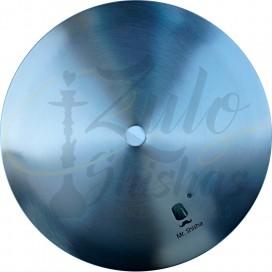 Imágenes de plato original para cachimbas MR Shisha de acero inoxidable 20cm de diámetro