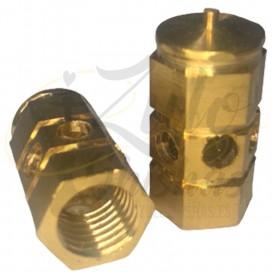 Imágenes de tapón para purga de cachimbas Farida tradicional, compatible con Khalil Mamoon o El Nefes.