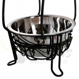 Imágenes de carbonera Kaya Shishas oriental en color negro para cachimbas y shishas