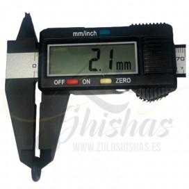 Imágenes de junta tórica para conector de manguera shishas 2,1mm de grosor y 11mm de diámetro