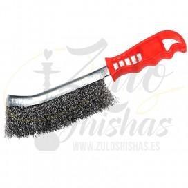 Imágenes de cepillo de acero para Kaloud Lotus y limpieza de gestores de calor para cachimbas