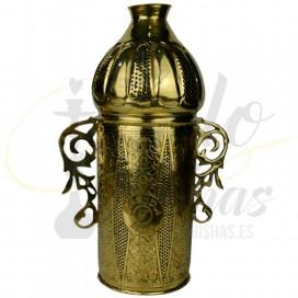 Imágenes de cubrevientos exclusivo Farida Royalty Real Queen Gold Exclusive