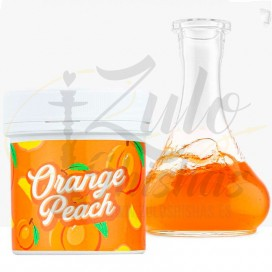 Imágenes de colorante o saborizante para cachimbas Papi Color en color Naranja sabor Peach o Melocotón