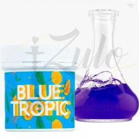 Imágenes de colorate en polvo para cachimbas Blue Tropic sabor Tropical en color AZUL