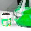 Imágenes de saborizante en polvo para cachimbas Green Melon · Papi Color en color verde sabor Melón