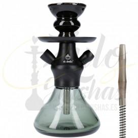 Imágenes de cachimba El Badia XS Black comprar online pequeña en color negro