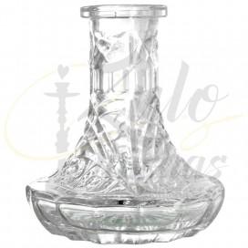Imágenes de base de cristal para cachimbas Pallets compatible con shishas rusas KAYA SHISHAS