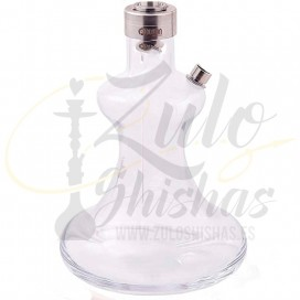 Imágenes de base para cachimbas Oduman HYBRID repuestos de cristal con cierre de shisha Oduman en Zulo Shishas