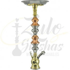 Imágenes de shisha tradicional Trimetal - Khalil Mamoon