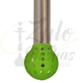 Imágenes de silenciador para cachimbas redondo KS de silicona - Difusor para shishas